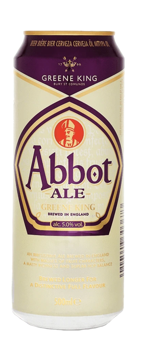 Greene King Abbot Ale 500ml Cans