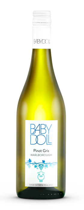 Babydoll Marlborough Pinot Gris 2019