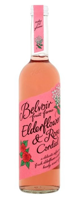 Belvoir Elderflower & Rose 750ml