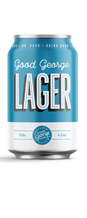Good George Good Lager 330ml