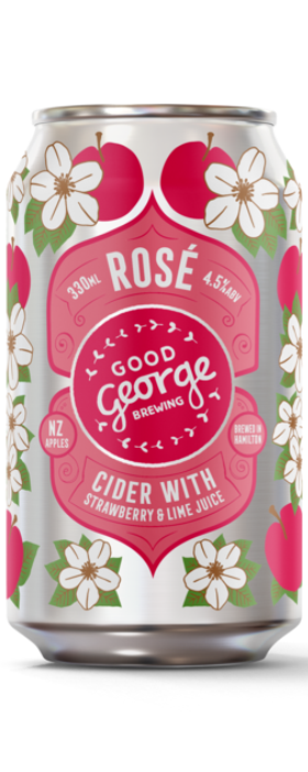 Good George Rose Cider 330ml