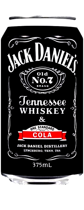 Jack Daniels & Cola One Standard 375ml