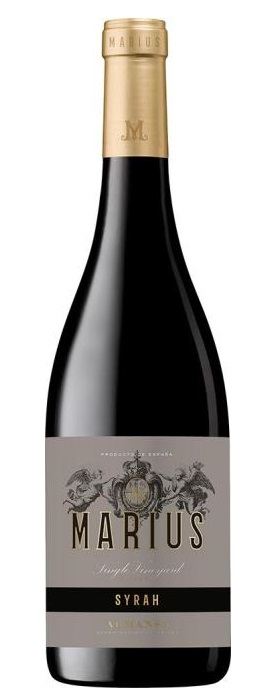 Marius Single Vineyard Organic Syrah 2016